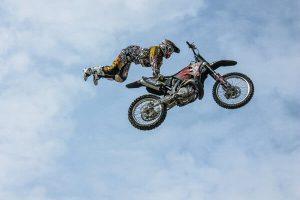 biker stunt