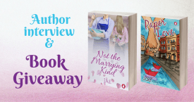 Interview and giveaway of two books by Jae