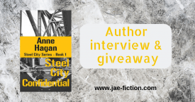 interview with lesbian mystery writer Anne Hagan
