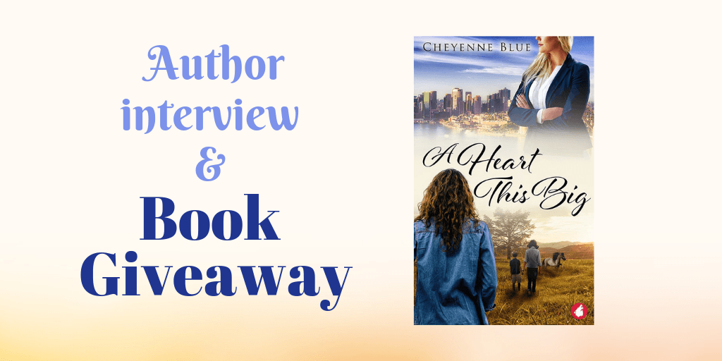 interview with lesbian romance author Cheyenne Blue