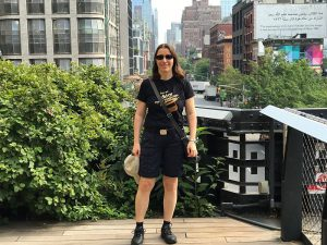 Jae in New York, High Line