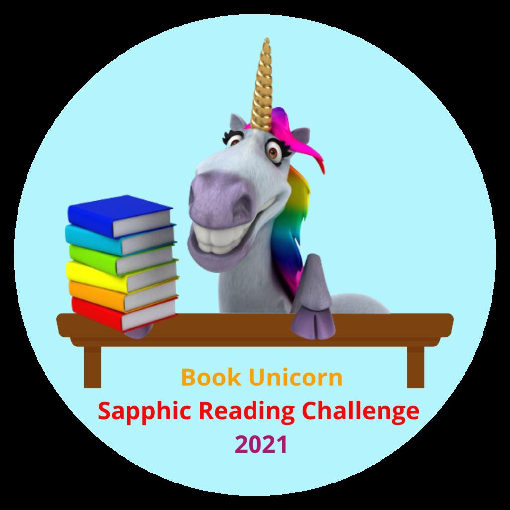 Sapphic Reading Challenge book unicorn