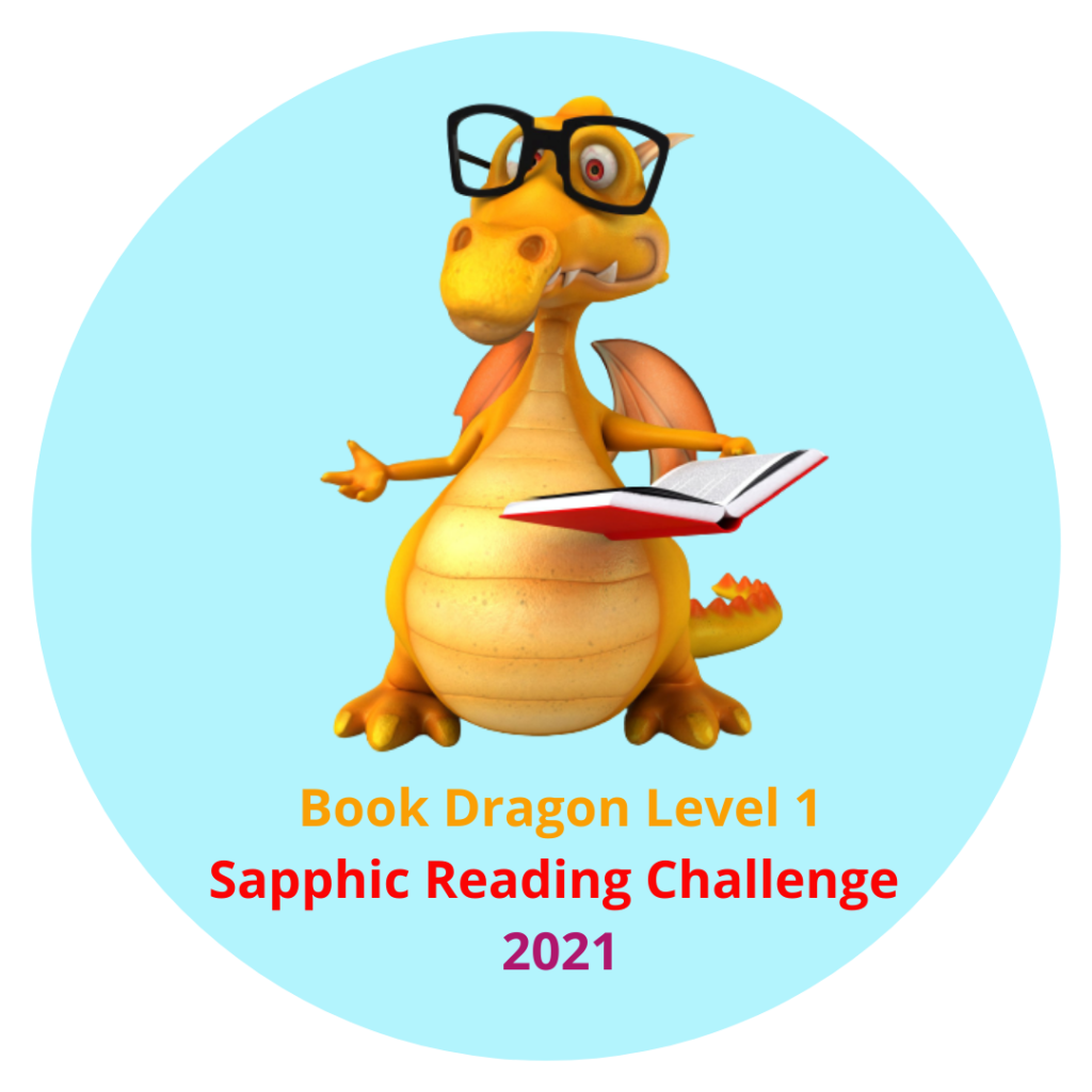 Sapphic Reading Challenge book dragon