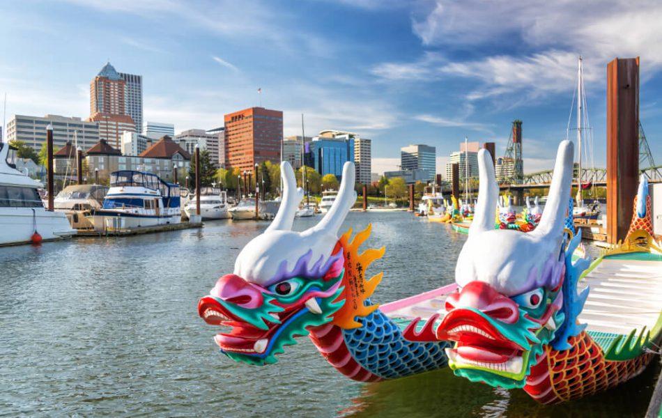 Dragonboats in Portland
