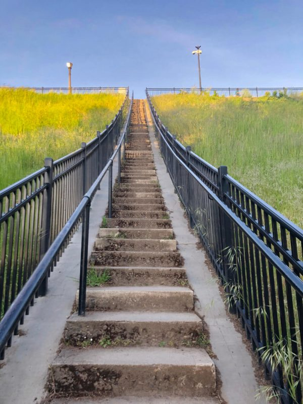 stairs at the reservoir